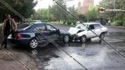 Աբովյան քաղաքում ճակատ-ճակատի բախվել են Mercedes և ВАЗ 21099 մակնիշի ավտոմեքենաները․ կան վ...