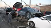 Շղթայական ավտովթար Երևանում․ միմյանց է բախված 7 մեքենա
