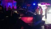 Արցախի պողոտայում «Մերսեդեսը» բախվել է սյանը. 22-ամյա աղջիկն արգելափակվել է մեքենայում
