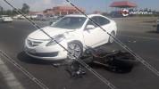 Արմավիրի մարզում 21-ամյա մոտոցիկլավարը Hayasa մոտոցիկլով բախվել է Mazda-ին. մոտոցիկլը կողա...