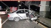 «Դալմա Գարդեն Մոլ»-ի դիմաց BMW-ն բախվել է վերգետնյա անցման հենասյուներին․ կան տուժածներ