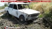 Արմավիրում 16-ամյա տղան ВАЗ 2107-ով կողաշրջվել և բախվել է գազատար խողովակին. հիվանդանոց տե...