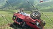 Սյունիքի մարզում 40-ամյա վարորդը Mitcubishi Pajero-ով մոտ 200 մետր մի քանի պտույտ գլորվելո...