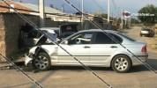Արմավիրի մարզում բախվել են BMW-ն ու Mercedes-ը, վերջինն էլ փլուզել է քարե պարիսպը. 7 վիրավ...