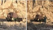 «GAZ-69» մակնիշի ավտոմեքենան դուրս է եկել ճանապարհի երթևեկելի հատվածից և ընկել Տերյան փողո...