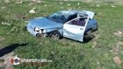 ՀՀ ՊՆ N բանակային կորպուսի զինծառայողը ՎԱԶ-21102-ով բախվել է քարերին. վիրավորը նույնպես զի...