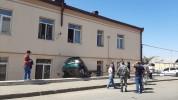 Ավտովթար Ստեփանակերտում. տուժածներ չկան (լուսանկարներ)