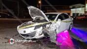 Երևանում բախվել են Mazda-ն ու Opel-ը. 3 վիրավորներից մեկին ավտոմեքենայից դուրս են բերել փր...