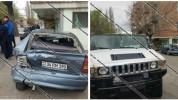 Աշտարակում իրար են բախվել Hummer և Opel մակնիշի ավտոմեքենաները․ Opel-ի վարորդը մարմնական վ...