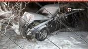 Կոտայքում բախվել են Mercedes եւ Opel մակնիշի մեքենաները. Mercedes-ը բախվել է նաեւ ծառին. կ...