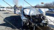 Կոտայքի մարզում բախվել են Mercedes-ն ու Opel Zafira-ն. կան վիրավորներ