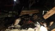 Հրդեհ Փանիկ գյուղում․ 2 սենյակն ու գույքն այրվել են