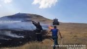 Աղին և Բագրավան գյուղերի մոտ մոտ 35 հա խոտածածկույթ է այրվել