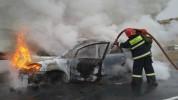 Արագածոտնի մարզում այրվել է ավտոմեքենա․ կան տուժածներ