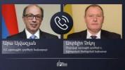 Հայաստանի և Մոլդովայի ԱԳ ղեկավարները հեռախոսազրույց են ունեցել