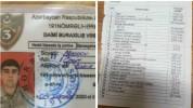 ՊԲ տեսանյութում առկա են ադրբեջանցի զինծառայողների փաստաթղթերի լուսապատճենները
