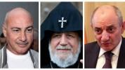 Ամենայն Հայոց Կաթողիկոսը հանդիպում է ունեցել Արցախի նախկին նախագահների հետ