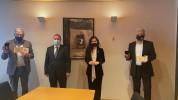 Լյուքսեմբուրգի խորհրդարանի երկու անդամի հանձնվել է ՀՀ ԱԺ պատվո մեդալ