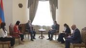 Փոխվարչապետ Մհեր Գրիգորյանն ընդունել է Միացյալ Թագավորության դեսպանին