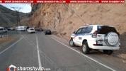 Ողբերգական ավտովթար Վայոց Ձորի մարզում. վարորդի դին մեքենայից դուրս են բերել փրկարարները
