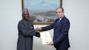 Նիգերիայի նորանշանակ դեսպանը իր հավատարմագրերի պատճենը հանձնեց ՀՀ ԱԳ նախարարի տեղակալին