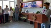 Եղվարդի դպրոցում բացվել է զոհվածների հիշատակին նվիրված հուշապատ (լուսանկարներ)