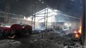 Ադրբեջանական Թառթառ քաղաքում այրվում է բամբակի գործարան. Ռիա Նովոստի