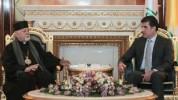 Իրաքի Հայոց թեմի առաջնորդը հանդիպել է Նեչիրվան Բարզանիի հետ