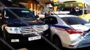Ավտովթար Երևանում. բախվել են ճանապարհային ոստիկանության հատուկ ուղեկցող վաշտի Toyota-ն, թի...