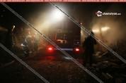 Խոշոր հրդեհ Սեմյոնովկայում. սատկել են շուրջ 100 խոշոր ու մանր անասուններ (լուսանկարներ)