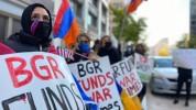 Հայերը բողոքի ակցիա են արել BGR լոբբիստական ընկերության դիմաց՝ պահանջելով խզել կապերն Ադրբ...