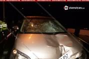 Женщина погибла под колесами автомобиля в армянском Раздане