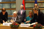 Բրյուսելում ստորագրվեց ՀՀ-ԵՄ համաձայնագիրը
