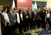 Եվրոպական 40 երկրներից Հայաստան են ժամանել ԵՊՌ մոտ 60 պատգամավորներ և կուսակցության ղեկավա...