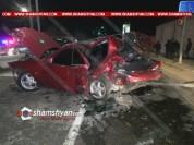 Խոշոր ու շղթայական ավտովթար «Զվարթնոց» օդանավակայանի խաչմերուկում. բախվել են Toyota Camry-...