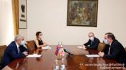 Ֆելիքս Ցոլակյանն ընդունել է ՀՀ-ում Վրաստանի դեսպան Գիորգի Սագանելիձեին
