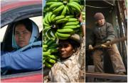 Աշխարհի տարբեր անկյուններում աշխատող կանանց պատկերող ուշագրա...