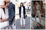 Սպիտակ ջինսե տաբատ. ինչպե՞ս կրել սեզոնի թրենդը (լուսանկարներ)