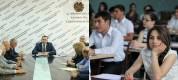 Հովհաննես Հովհաննիսյանն այսօր հանդիպում է ունեցել  բուհերի ռեկտորների հետ