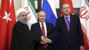 Ռուսաստանի, Թուրքիայի ու Իրանի նախագահների հանդիպումից հետո համատեղ հայտարարություն է հրապ...