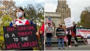 Ամերիկահայերը խաղաղ ցույցի են դուրս եկել Նյու Յորքում՝ բողոքելով մշակութային ցեղասպանությա...