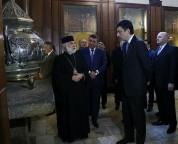 Վրաստանի ՆԳՆ պատվիրակությունն այցելեց Էջմիածին  (ֆոտոշարք)