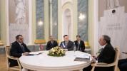 Հայաստանի, ՌԴ-ի և Ադրբեջանի գլխավոր դատախազները Ղազախստանում քննարկել են ԼՂ-ին առնչվող հար...