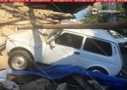 19-ամյա վարորդը Նիվայով մխրճվել է բնակելի տան մեջ