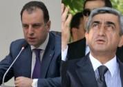План Сержа Саргсяна: в апреле 2017 года премьером станет Виген Саргсян. «Жаманак»