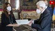 Իտալիայում ՀՀ նորանշանակ դեսպանը իր հավատարմագրերը հանձնել է Իտալիայի Հանրապետության նախագ...