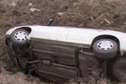 Մուղնի-Ապարան ավտոճանապարհին Բելառուսի քաղաքացու վարած բեռնատար է կողաշրջվել
