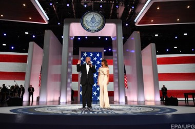 Дональд и Мелания Трамп станцевали на балу