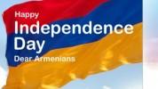 Ամերիկայի հայկական համագումարը շնորհավորական ուղերձ է հղել Անկախության տոնի առթիվ