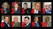 Երեք գեներալների գերհզորացումից մինչև Հովիկ Աբրահամյանի հակակոռուպցիոն պատերազմ. Ամենաիշխանավորների TOP 10